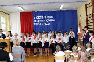 20. rocznica nadanie szkole sztandaru